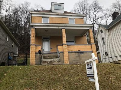 Wilmerding Single Family Home For Sale: 436 Card Ave