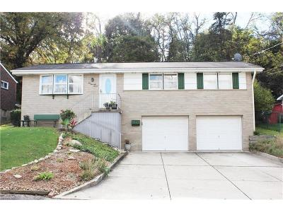 Penn Hills Single Family Home For Sale: 177 McAlister Dr