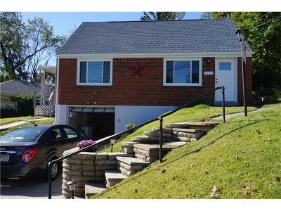Wilkins Twp Single Family Home Contingent: 1438 Jefferson Heights Road