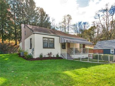 Murrysville Single Family Home Contingent: 4681 Millstream Ct.