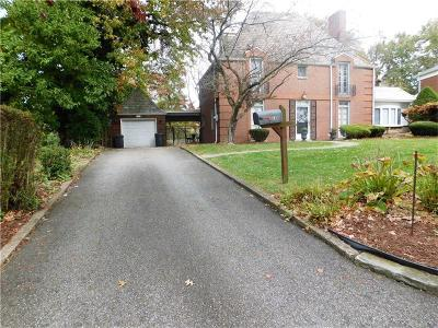 Penn Hills Single Family Home For Sale: 136 Crescent Hills Rd