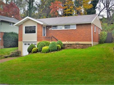 Wilkins Twp Single Family Home Contingent: 151 Queenston Dr
