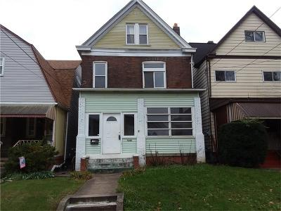 Swissvale Single Family Home For Sale: 7348 Denniston