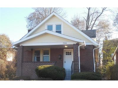 Swissvale Single Family Home Contingent: 7926 Newmeyer St.