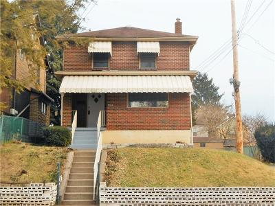 Swissvale Single Family Home Contingent: 7314 Schley Ave