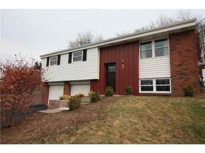 Murrysville PA Single Family Home Sold: $188,500