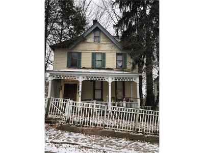 Wilkinsburg Single Family Home For Sale: 812 Hill Ave