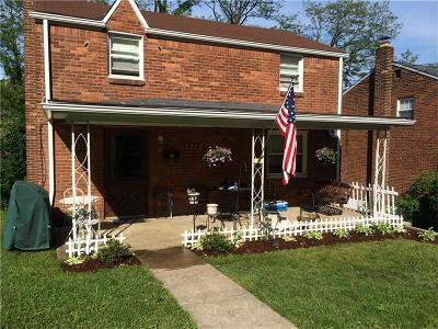 Wilkins Twp Single Family Home Contingent: 875 Stevendale Drive