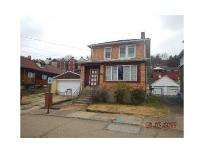 Swissvale Single Family Home Contingent: 2319 Hawthorne Ave