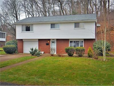 Westmoreland County Single Family Home Contingent: 12440 Roth Dr