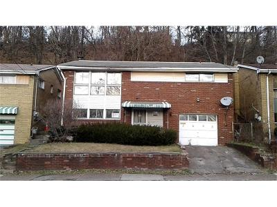 Swissvale Single Family Home For Sale: 2693 Woodstock Ave