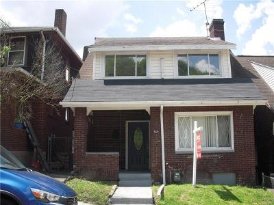 Wilkinsburg Single Family Home For Sale: 569 Midland