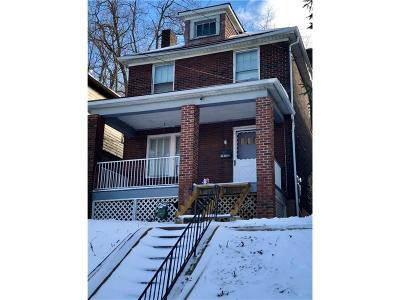 Wilkinsburg Single Family Home For Sale: 2036 Chalfant