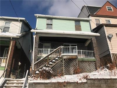 Swissvale Single Family Home For Sale: 2219 Hawthorne Ave