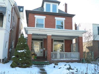Shadyside Single Family Home Contingent: 148 Morewood Ave