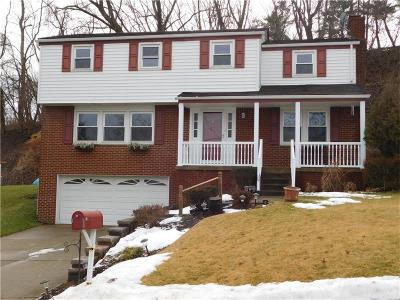 Wilkins Twp Single Family Home For Sale: 98 Ridgecrest Dr