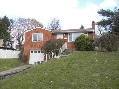 Westmoreland County Single Family Home For Sale: 12429 Adams Drive