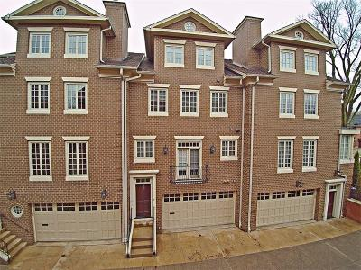 Squirrel Hill Townhouse For Sale: 1408 Beechwood Blvd