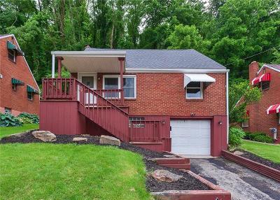 Jeannette Single Family Home For Sale: 453 Cedar St