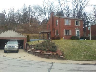 Forest Hills Boro PA Single Family Home For Sale: $205,000