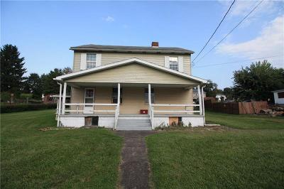 South Huntingdon PA Single Family Home Sold: $25,000