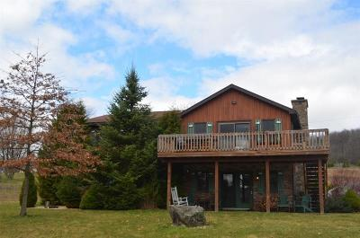 Somerset/Cambria County Single Family Home For Sale: 1018 Lake Shore Road