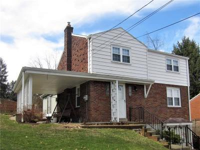 Forest Hills Boro PA Single Family Home Sold: $126,200