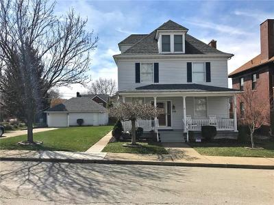 City Of Greensburg PA Single Family Home Sold: $185,000