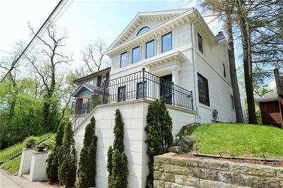 Squirrel Hill Single Family Home For Sale: - South Negley