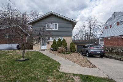 Wilkins Twp Single Family Home Contingent: 311 Kingston Dr