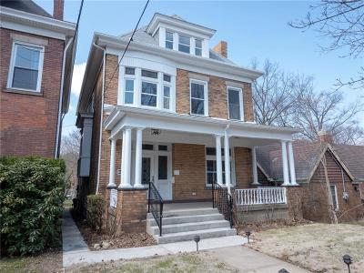 Regent Square Single Family Home For Sale: 810 S Braddock Ave