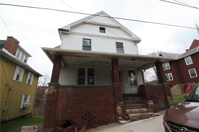 Connellsville PA Single Family Home For Sale: $9,900