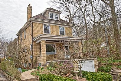 Regent Square Single Family Home For Sale: 1411 East End Ext