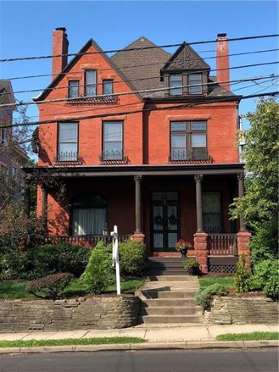 Shadyside Single Family Home For Sale: 400 Morewood Ave