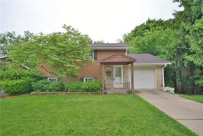 Wilkins Twp Single Family Home For Sale: 550 Lucia Road