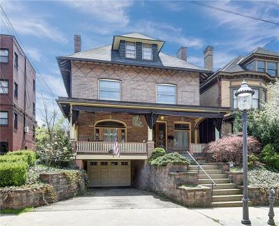 Regent Square Single Family Home For Sale: 414 Whitney Ave