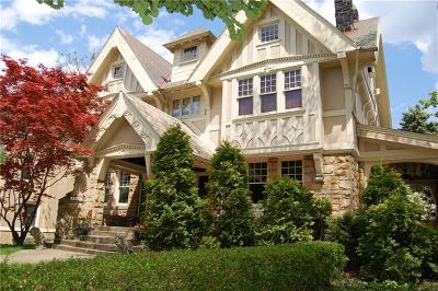 Squirrel Hill Single Family Home For Sale: 1545 Beechwood Blvd