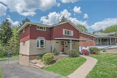 Wilkins Twp Single Family Home Contingent: 201 Dunbar Dr