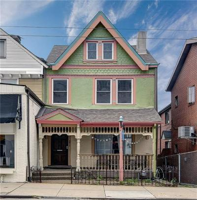 Shadyside Single Family Home For Sale: 5817 Ellsworth Ave