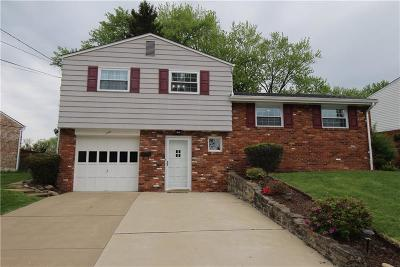 Penn Hills Single Family Home Contingent: 135 Crescent Garden Dr