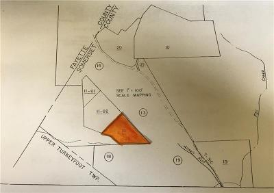 Somerset/Cambria County Residential Lots & Land For Sale: -- Earl Ansell Rd