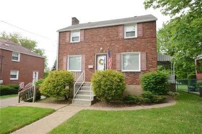 Forest Hills Boro Single Family Home For Sale: 4016 Greensburg Pike