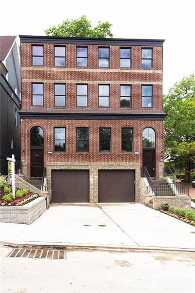 Squirrel Hill Townhouse Contingent: 1524 Asbury
