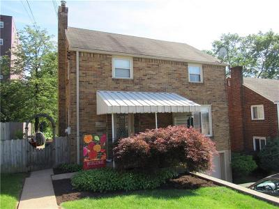 Munhall PA Single Family Home Sold: $110,000
