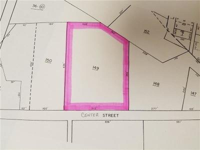 Somerset/Cambria County Residential Lots & Land For Sale: --- Center St
