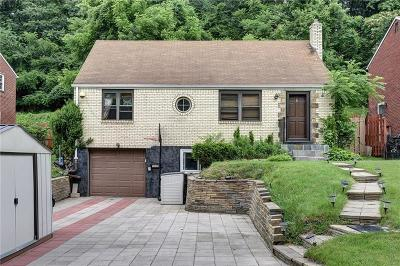 Penn Hills Single Family Home For Sale: 3125 Hebron Dr