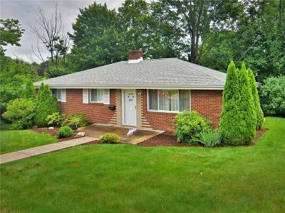 Greensburg, Hempfield Twp - Wml Single Family Home For Sale: 415 Shogan Drive