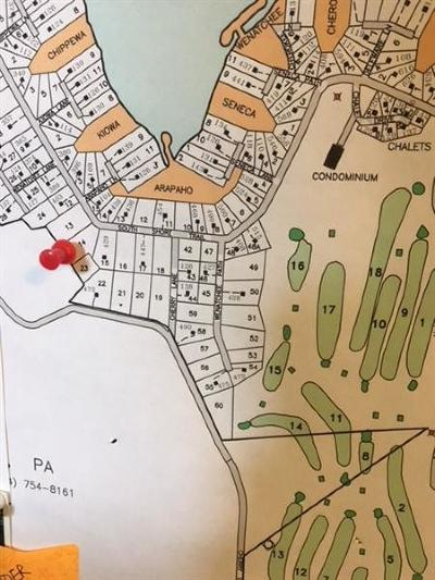 Somerset/Cambria County Residential Lots & Land For Sale: #14 South Shore Trail/Wenatchee