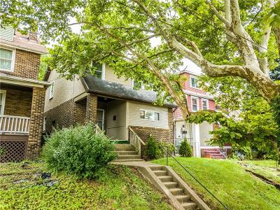 Swissvale Single Family Home Contingent: 7814 Edgewood Ave