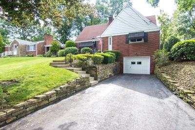 Penn Hills Single Family Home Contingent: 400 Garlow Dr